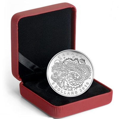 2016 $8 Fine Silver Coin – Dragon Dance